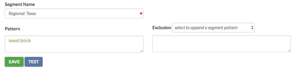 Segmenting Queries Keylime Toolbox