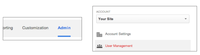 ogle Analytics: Add User