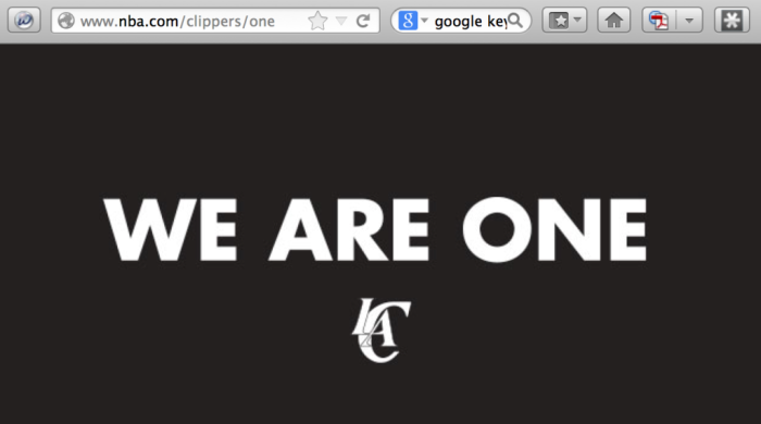 Clippers We Are One