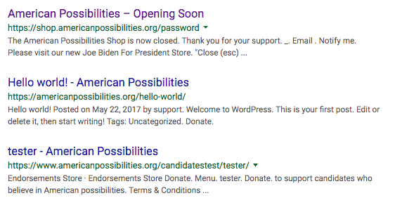 american possibilities technical seo